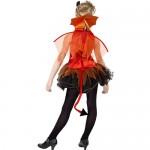 Costume adolescente petite diablesse rouge dos