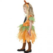 Costume enfant petite fée citrouille profil