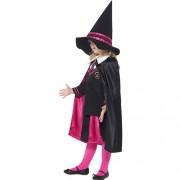 Costume enfant petite sorcière écolière profil