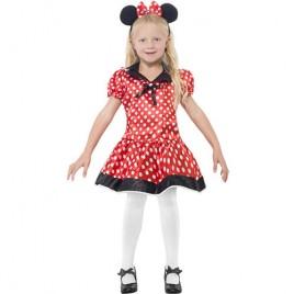 Costume enfant petite souris rouge