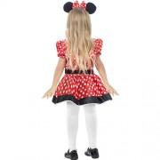 Costume enfant petite souris rouge dos