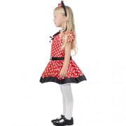 Costume enfant petite souris rouge profil