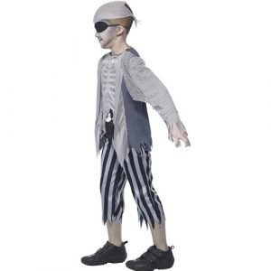 Costume enfant pirate bateau fantôme profil