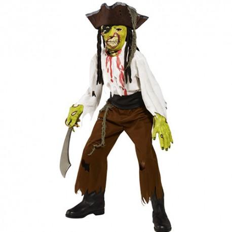 Costume enfant pirate gorge tranchée
