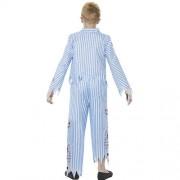 Costume enfant pyjama zombie dos