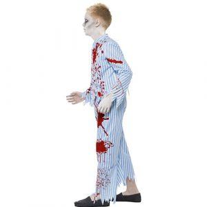 Costume enfant pyjama zombie profil