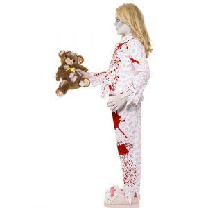 Costume enfant pyjama fille zombie profil