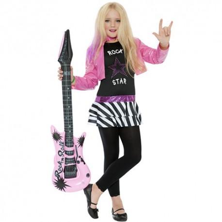 Costume enfant fille rockstar glamour