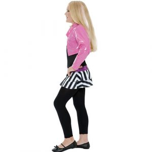 Costume enfant fille rockstar glamour profil
