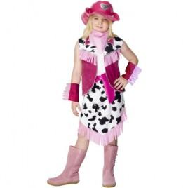 Costume enfant fille rodéo girl