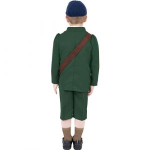 Costume enfant seconde guerre mondiale dos