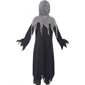 Costume enfant sombre faucheuse dos