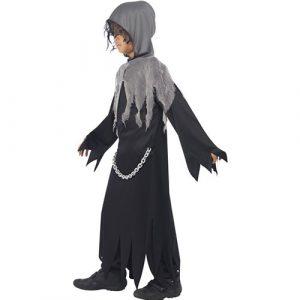 Costume enfant sombre faucheuse profil