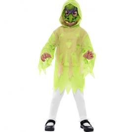 Costume enfant kit sorcier monstre vert