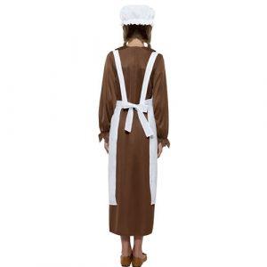 Costume enfant kit fille victorienne dos