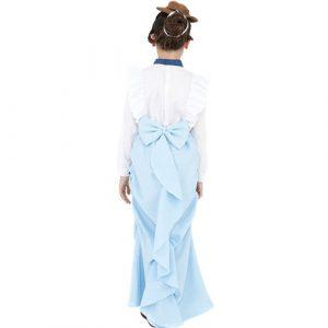 Costume enfant fille victorienne chic dos