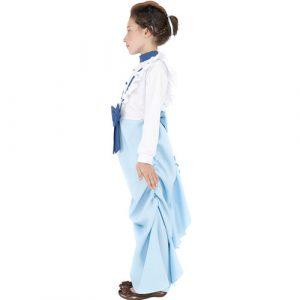 Costume enfant fille victorienne chic profil