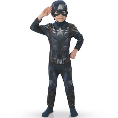 Costume enfant Captain America Marvel Winter soldier