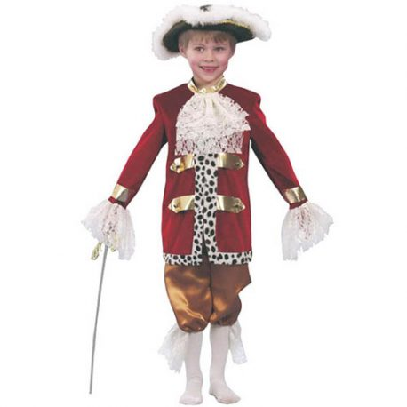 Costume enfant Casanova charmant