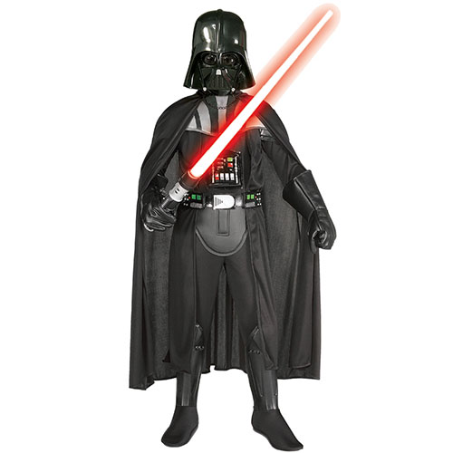 costume enfant dark vador star wars luxe avec masque. Black Bedroom Furniture Sets. Home Design Ideas