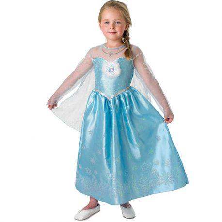 Costume enfant princesse Elsa Reine des Neiges Disney