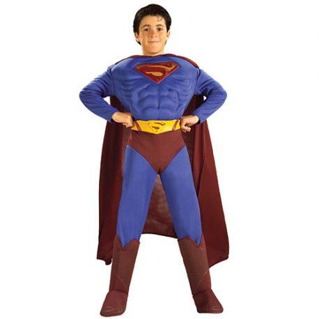 Costume enfant Superman musclé