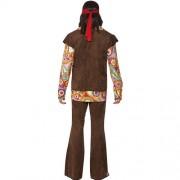 Costume homme 1960 hippie psychédélique dos
