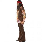 Costume homme 1960 hippie psychédélique profil