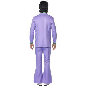 Costume homme 1970 lavande dos