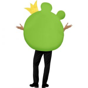 Costume homme Angry Birds cochon vert dos