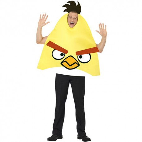 Costume homme Angry Birds jaune
