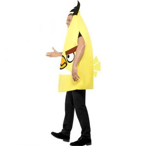 Costume homme Angry Birds jaune profil