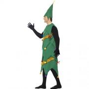 Costume homme arbre de Noël deluxe profil