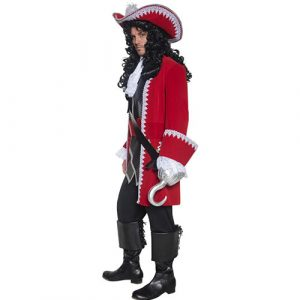 Costume homme Authentic capitaine pirate profil