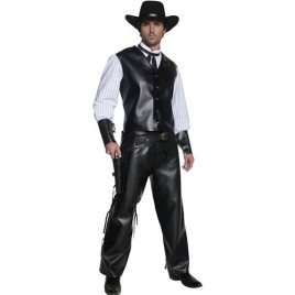 Costume homme Authentic western bandit armé