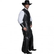 Costume homme Authentic western bandit armé profil