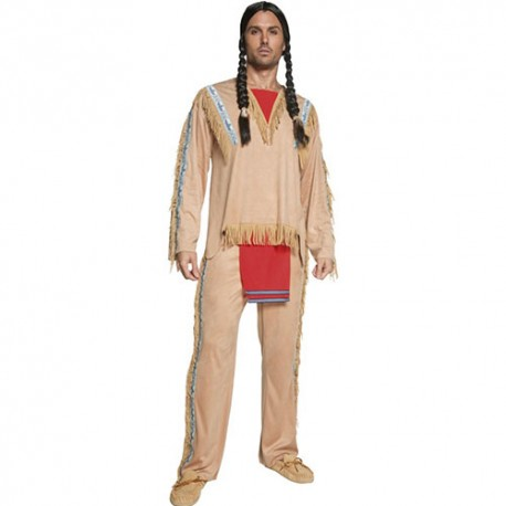 Costume homme Authentic western chef indien