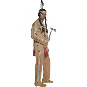 Costume homme Authentic western chef indien profil