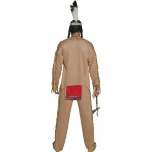 Costume homme Authentic western chef indien dos