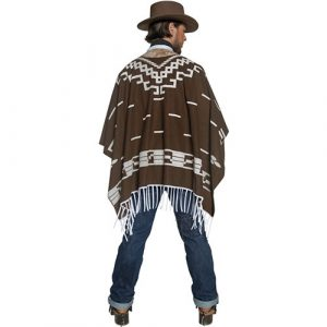 Costume homme Authentic western aventurier dos