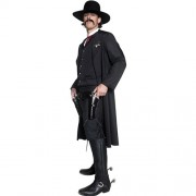 Costume homme Authentic western sheriff profil