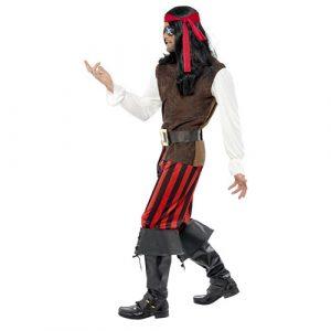 Costume homme de bateau pirate profil