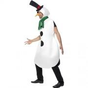 Costume homme bonhomme de neige profil