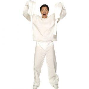 Costume homme camisole blanche bras détachés