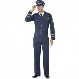 Costume homme capitaine air force