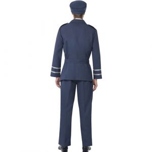 Costume homme capitaine air force dos