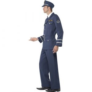 Costume homme capitaine air force profil
