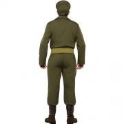 Costume homme capitaine de guerre dos