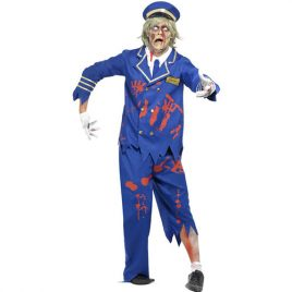 Costume homme capitaine zombie