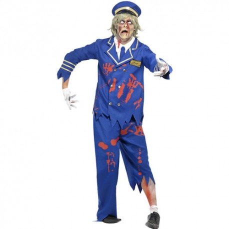 Costume homme capitaine zombie